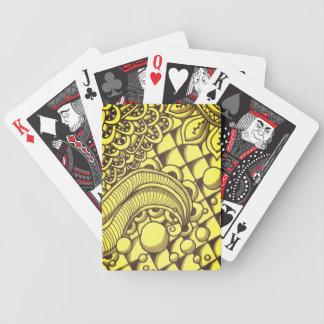 Carta De Baralho Cartões de jogo dourados do póquer de Bicycle®
