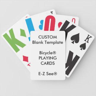 Carta De Baralho Cartões de jogo feitos sob encomenda das letras