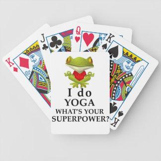 Carta De Baralho eu faço a ioga que s seu poder super