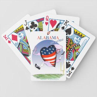 Carta De Baralho fernandes tony altos e orgulhosos de Alabama,