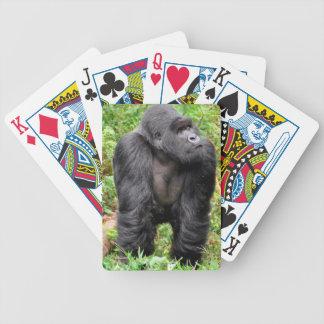 Carta De Baralho Macaco feliz