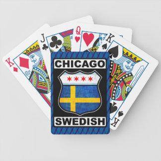 Carta De Baralho Plataforma de cartão americana sueco de Chicago