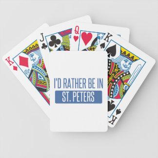 Carta De Baralho St Peters