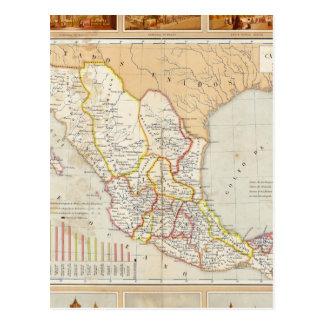 Carta religiosa de México Cartão Postal