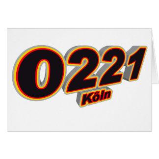 Cartão 0221 Koeln