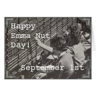 Cartão - 1º de setembro - DIA de EMMA NUTT