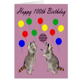 Cartão 100th