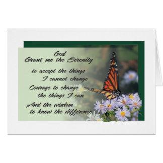 cartão 10 da oração da serenidade