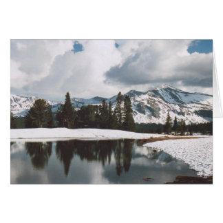 Cartão 12. Prados lago de Dana, Yosemite