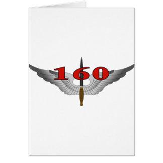 Cartão 160th Regimento da aviação das operações especiais