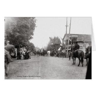 Cartão 16o Infantaria de Tennessee, reunião CSA-1900