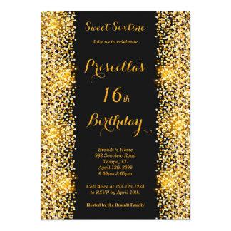 Cartão 16o Mulher da festa de aniversário, alguma idade,