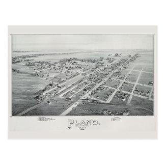 Cartão 1891 da vista geral de Plano Cartão Postal