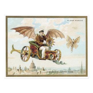Cartão 1900 do Victorian de Marche Palais do Bon