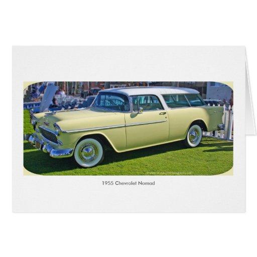 Cartão 1955 do nómada de Chevrolet