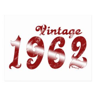 Cartão 1962 do vintage