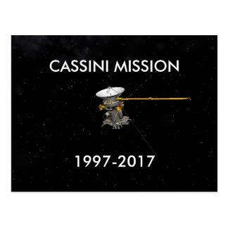 CARTÃO 1997-2017 DA MISSÃO DE CASSINI