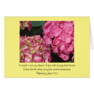 Cartão 1:2 encorajador de James da escritura - 3