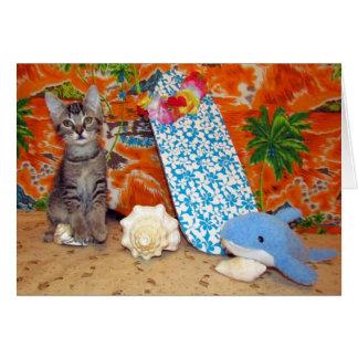 Cartão #1 da aventura do Hawaiin de Kori