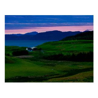 Cartão 1 do castelo de Glengorm