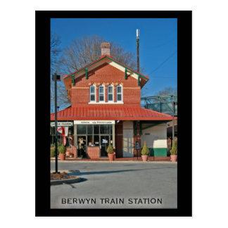 Cartão #1 do estação de caminhos-de-ferro de