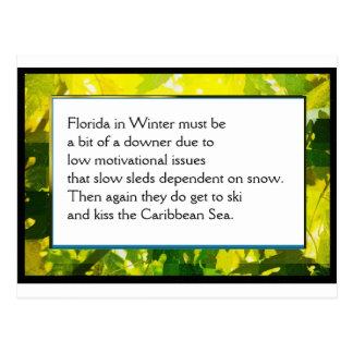 Cartão #1 do poema da fazenda engraçada