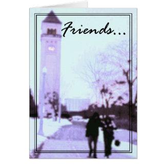 Cartão 1 dos amigos