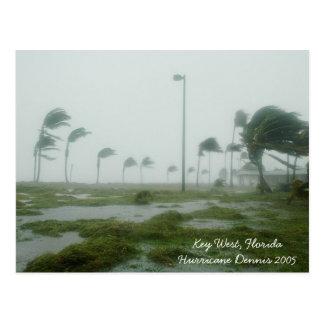 Cartão 2005 de Dennis Key West Florida do furacão