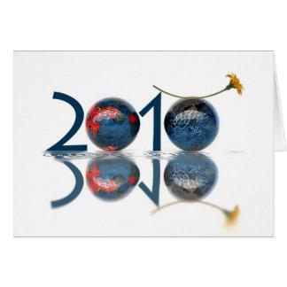 Cartão 2010 anos novos