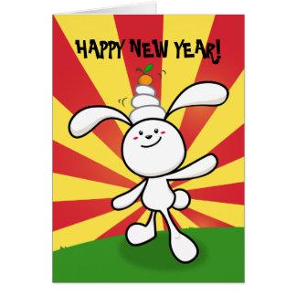 Cartão 2011: Ano do coelho: Equilíbrio de Mochi!