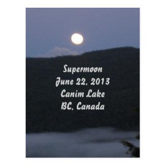 Cartão 2013 de Supermoon
