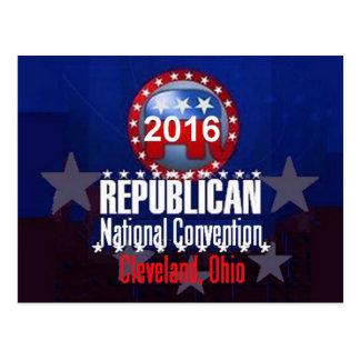 Cartão 2016 da convenção do republicano
