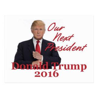 Cartão 2016 de Donald Trump