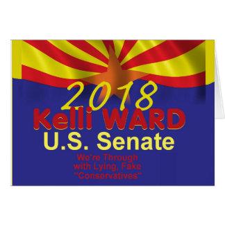 Cartão 2018 do Senado da DIVISÃO de Kelli