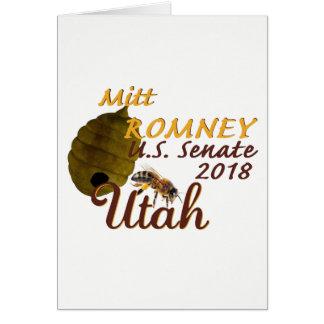 Cartão 2018 do Senado de Mitt Romney