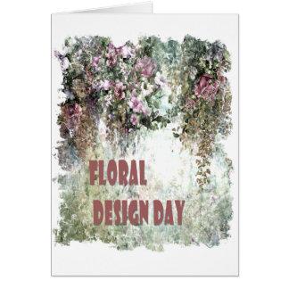 Cartão 28 de fevereiro - dia do design floral