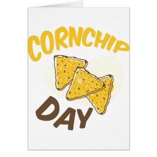 Cartão 29 de janeiro - dia de Cornchip