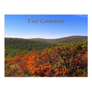 Cartão 2 de Connecticut da visita