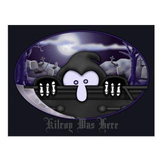 Cartão 2 de Kilroy do Ceifador