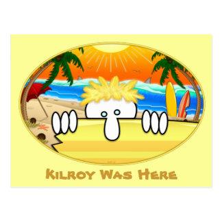 Cartão 2 de Kilroy do surfista
