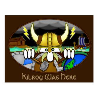 Cartão 2 de Viking Kilroy