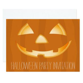 Cartão 2 do convite de festas do Dia das Bruxas da
