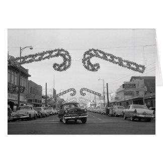Cartão 35o Rua, Oak Park, Sacramento, CA, 1959