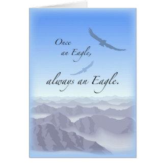 Cartão 3897 uma vez Eagle
