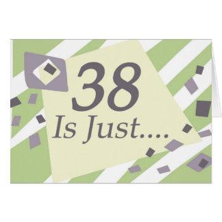 Cartão 38th Aniversário
