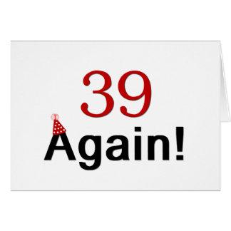 Cartão 39 outra vez