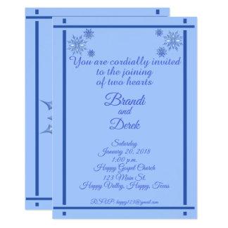 Cartão 3 flocos de neve
