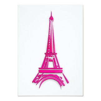 Cartão 3d torre Eiffel, clipart de France