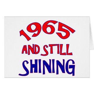 Cartão 49 anos de design velho do aniversário