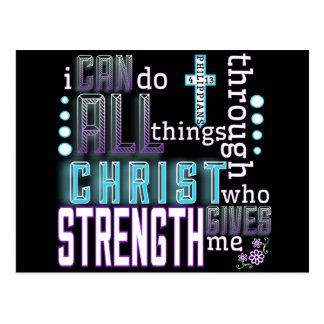Cartão - 4:13 dos Philippians